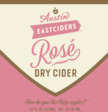 Austin Eastciders Rosé Dry Cider beer
