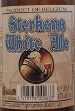 Sterkens White Ale beer Label Full Size