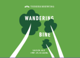 Threes Wandering Bine (Blend 9) beer Label Full Size