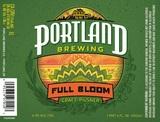 Portland Full Bloom Pilsner beer