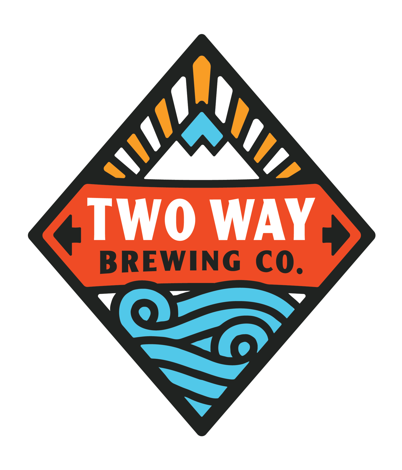 Two Way FinnTastic Cream Ale beer Label Full Size