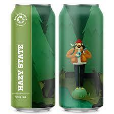 Collective Arts Hazy State beer Label Full Size