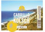 Golden Road Cabrillo Kolsch beer