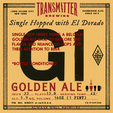 Transmitter G1 Golden Ale w/ El Dorado beer