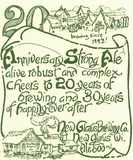 New Glarus 20th Anniversary Strong Ale beer
