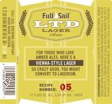 Full Sail LTD Vienna Lager beer
