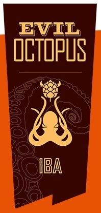 Mayday Evil Octopus beer Label Full Size