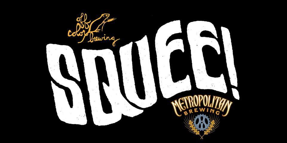 Metropolitan Squee! beer Label Full Size