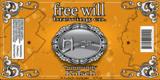 Free Will Kolsch beer