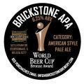 Brickstone American Pale Ale Beer