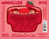 Mikkeller NYC Strawberry Mikkellerita beer