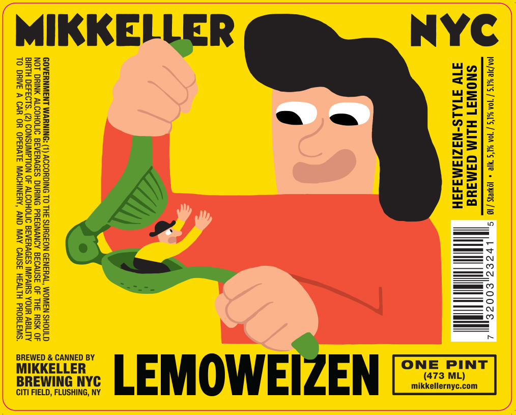 Mikkeller NYC Lemoweizen Beer
