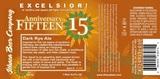 Ithaca Excelsior! 15th Anniversary Dark Rye beer