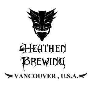 Heathen Transcend IPA beer Label Full Size