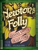 Newton's Folly Green Apple Beer