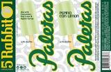 5 Rabbit Pepino Con Limon Paletas beer