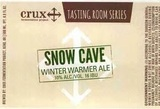 Crux Fermentation Project Snow Cave Beer