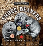 Howe Sound Three Beavers Imperial Red Beer
