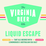 Virginia Beer Co. Liquid Escape beer
