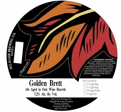 Allagash Golden Brett Beer