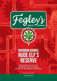 Fegley's Bourbon Barrel Rude Elf's Reserve beer