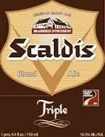 Dubuisson Scaldis Tripel Blonde beer Label Full Size