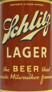 Schlitz Lager beer Label Full Size