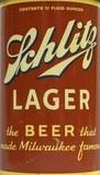 Schlitz Lager beer