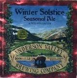 Anderson Valley Winter Solstice Beer