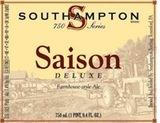Southhampton Saison Deluxe beer