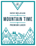 New Belgium Mountain Time Premium Lager beer