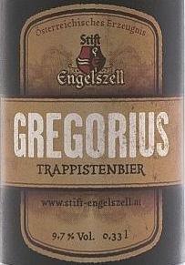 Stift Engleszell Gregorius beer Label Full Size