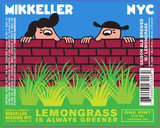 Lemongrass Is Always Greener beer