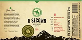 Elevation 8 Second beer