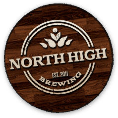 North High Milk Stout beer Label Full Size