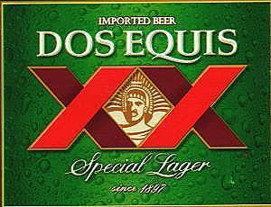 Dos XX Special Lager beer Label Full Size