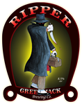 Green Jack Ripper beer