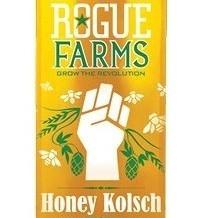 Rogue Farms Honey Kolsch beer Label Full Size