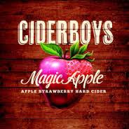Ciderboys Magic Apple beer Label Full Size