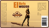 No Label El Hefe Weizen Ale Beer