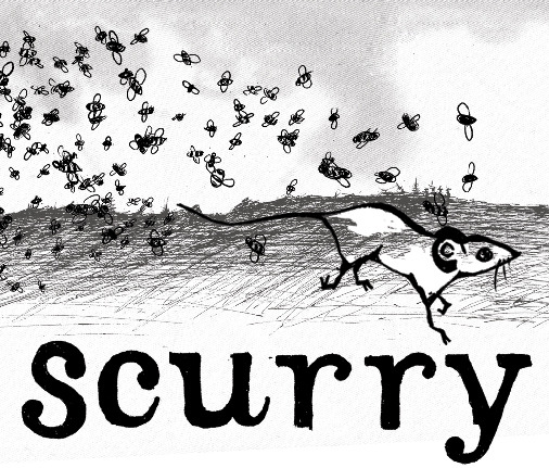 Off Color Scurry beer Label Full Size