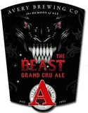 Avery The Beast Grand Cru Ale beer