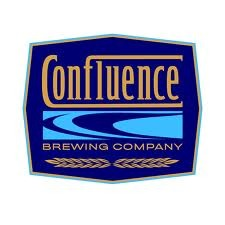 Confluence Blue Corn beer Label Full Size