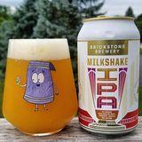 Brickstone Milkshake IPA Tangerine & Passionfruit beer