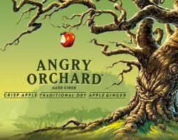 Angry Orchard Hard Apple Cider beer Label Full Size