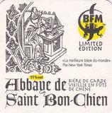 BFM Abbaye De St. Bon Chien Beer