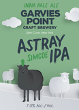 Garvies Point Astray Simcoe beer