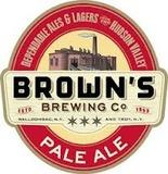 Brown's Pale Ale beer