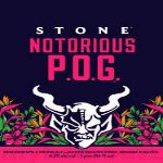 Stone Brewing Notorious P.O.G. beer Label Full Size