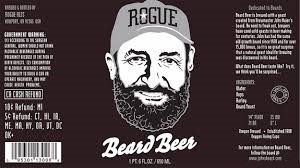 Rogue Beard Beer beer Label Full Size